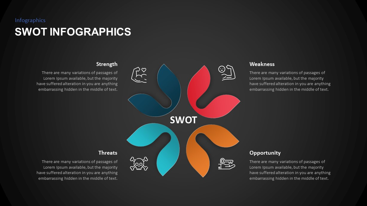 SWOT Analysis Infographic Template