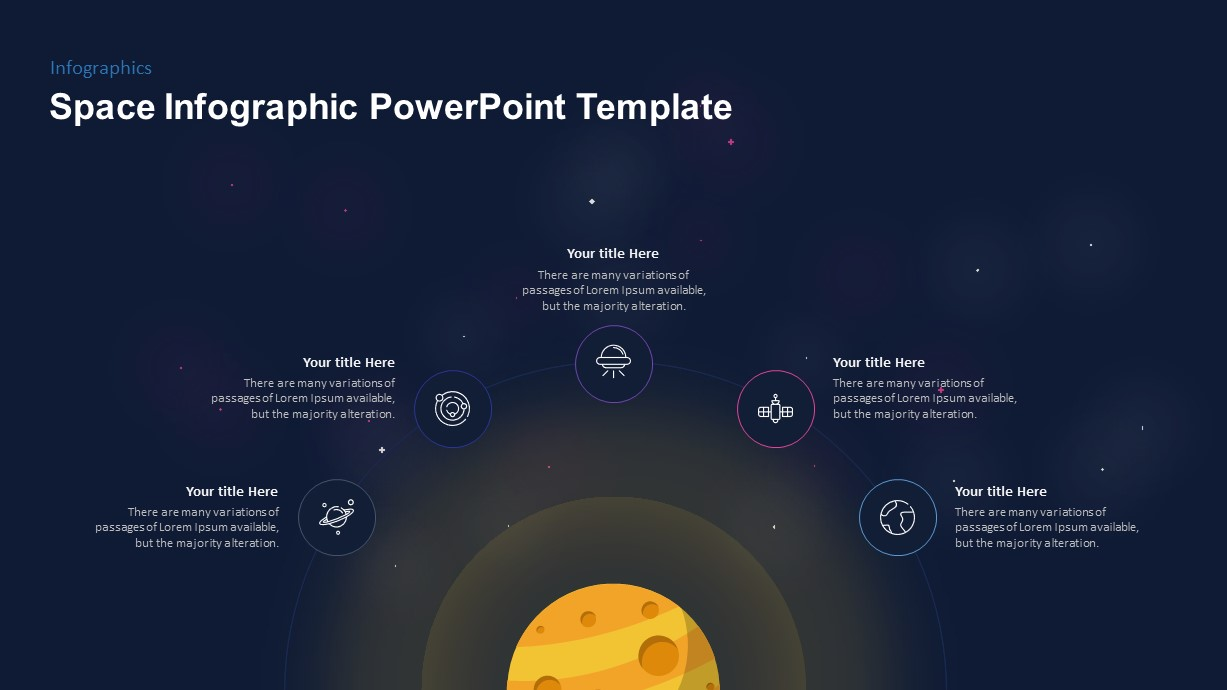 Outer Space PowerPoint Template
