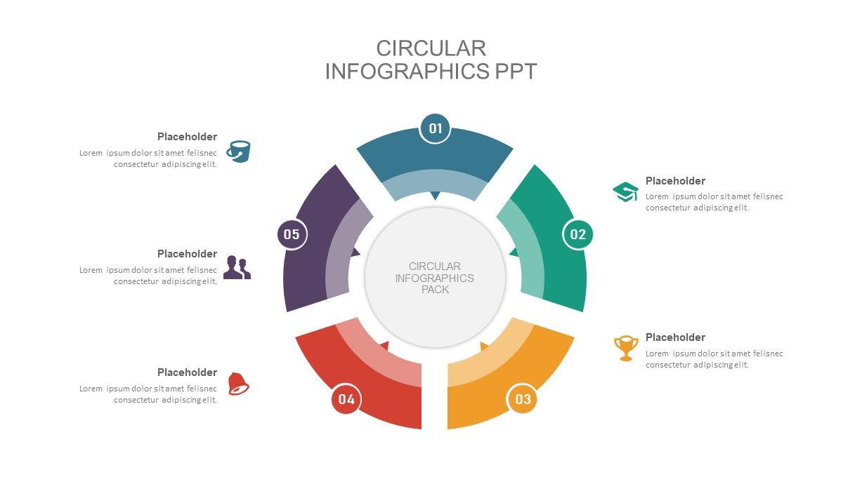 circular diagram PowerPoint template