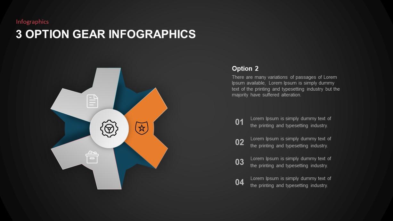 gear PowerPoint template
