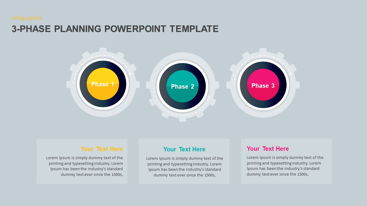 3-Phase Planning Timeline PowerPoint Template