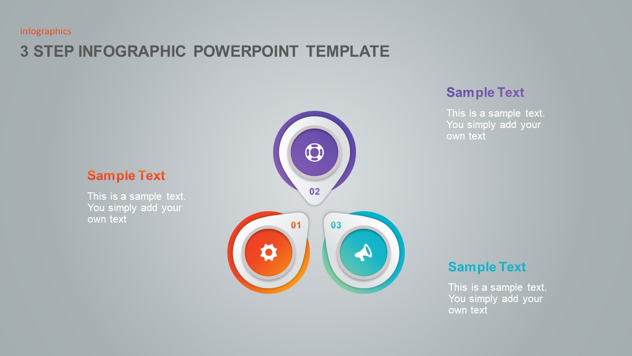 3 Step PowerPoint Template