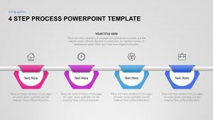 4 Step Process PowerPoint Template