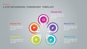 3, 4 & 5 Step Infographic Template for PowerPoint