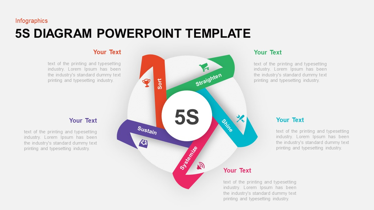 5S PowerPoint Template