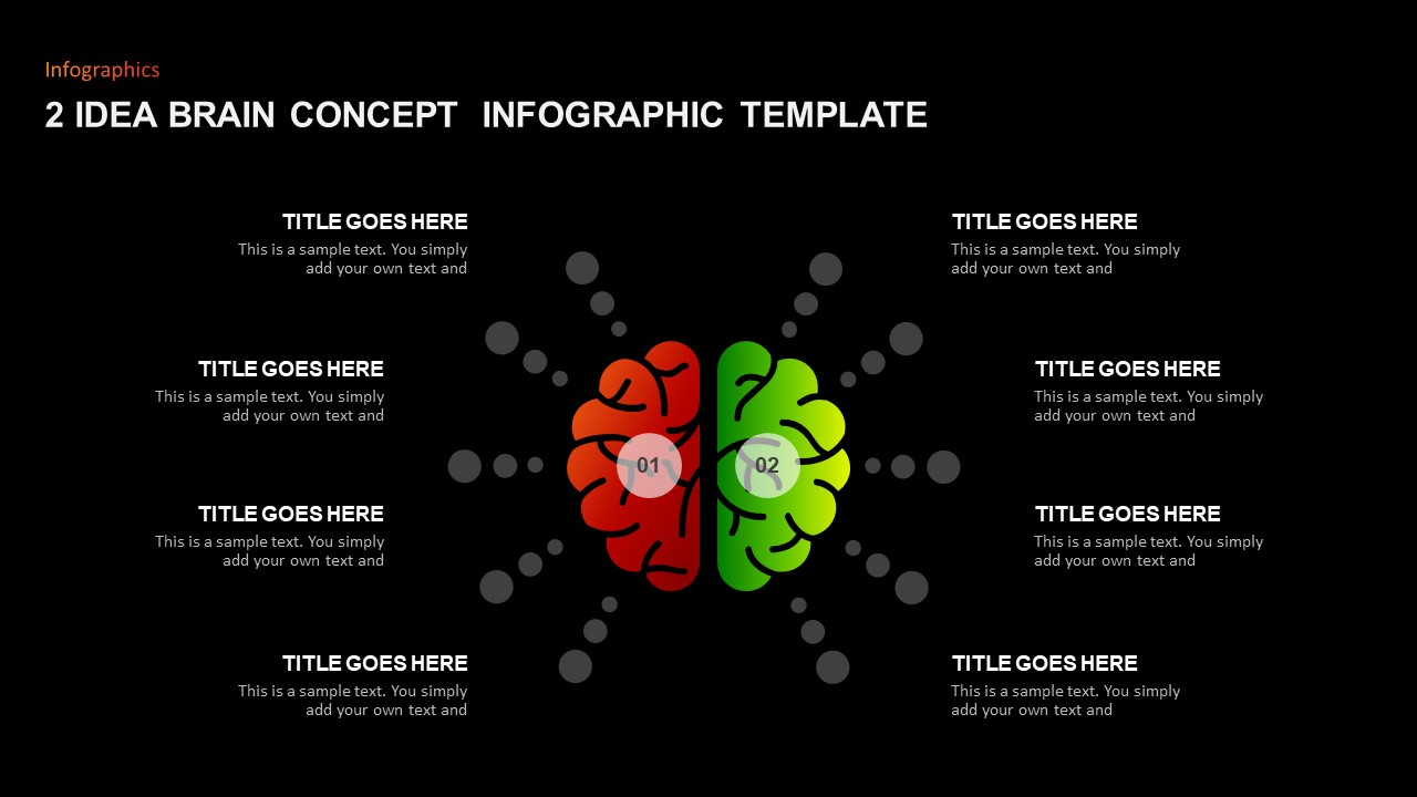 Brain Concept PowerPoint Template