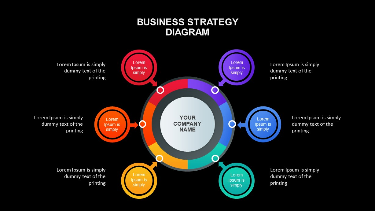 Business Strategy Diagrams for PowerPoint