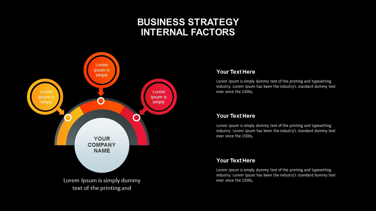 Business Strategy Diagrams for Presentation
