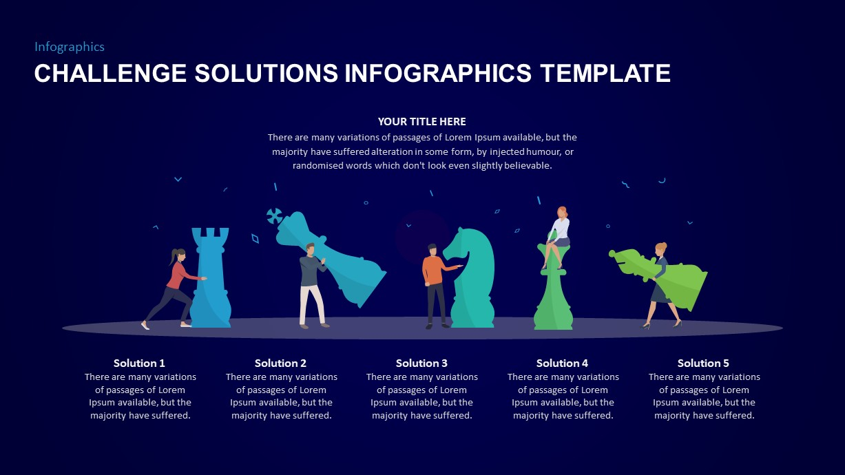 Challenge and Solution Ppt Template