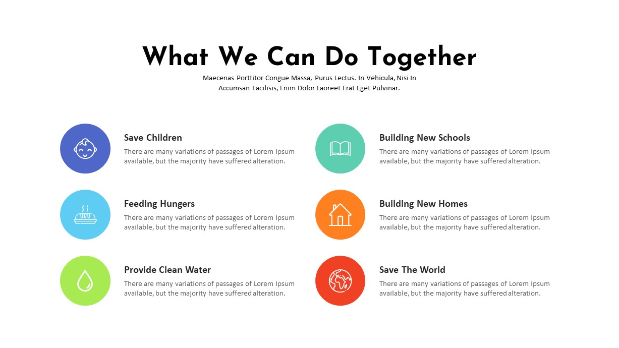 Charity PowerPoint Template Do together