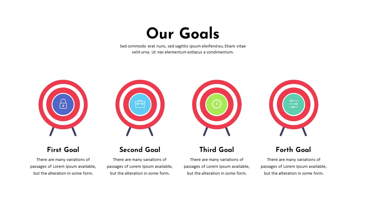 Charity Goals PowerPoint Template