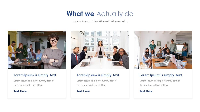 Company Profile Deck Template For Powerpoint Slidebazaar