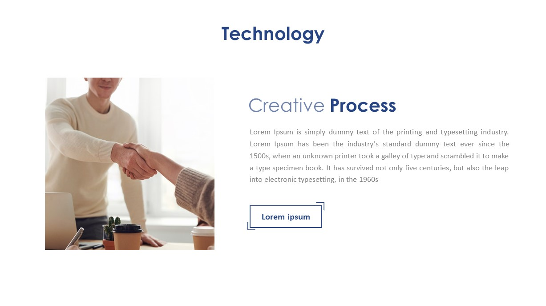 Company Profile Ppt Deck Template