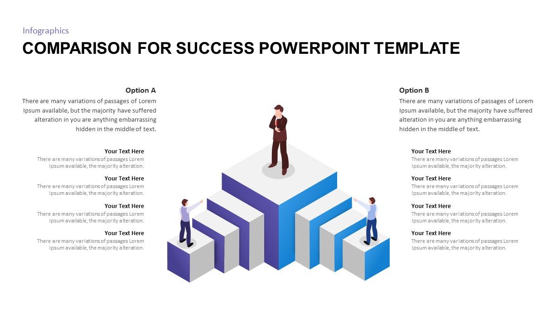 Comparison PowerPoint Template for Success