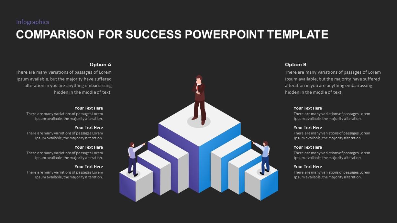 Comparison for Success PowerPoint Template