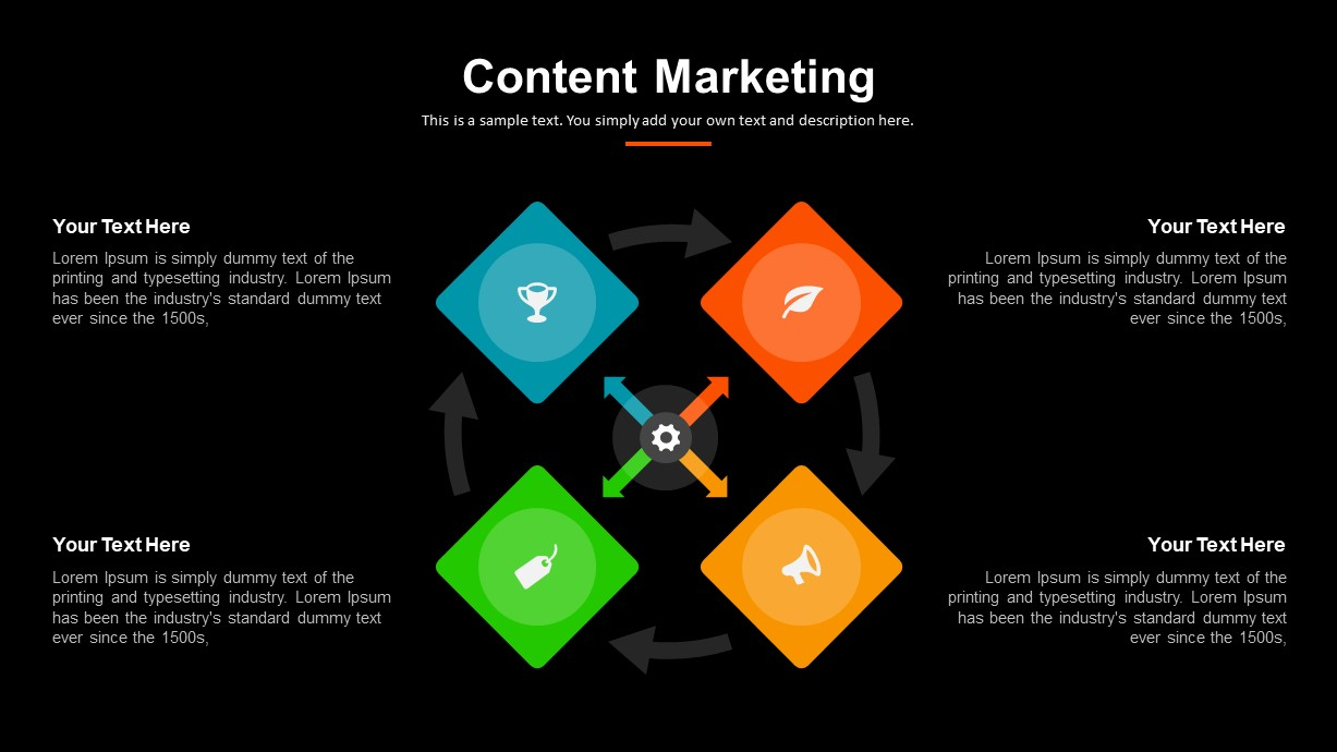Content Marketing PowerPoint Template
