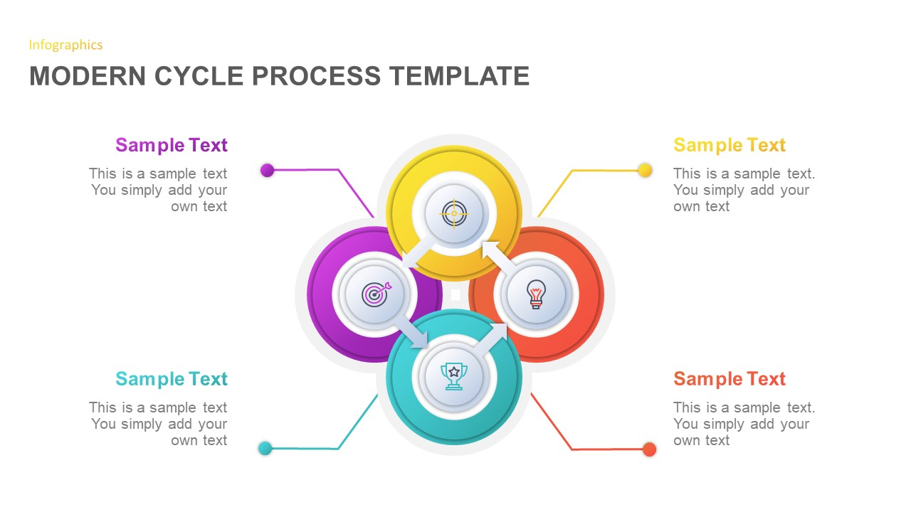 Cycle Process Diagram for PowerPoint