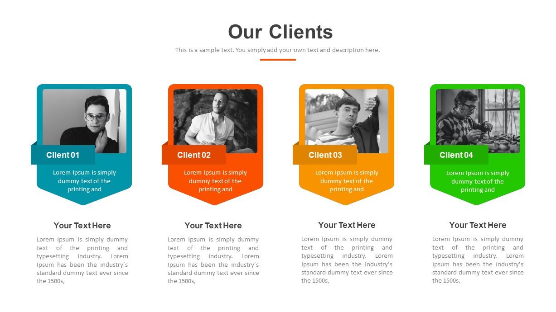 Digital Marketing Clients PowerPoint Template