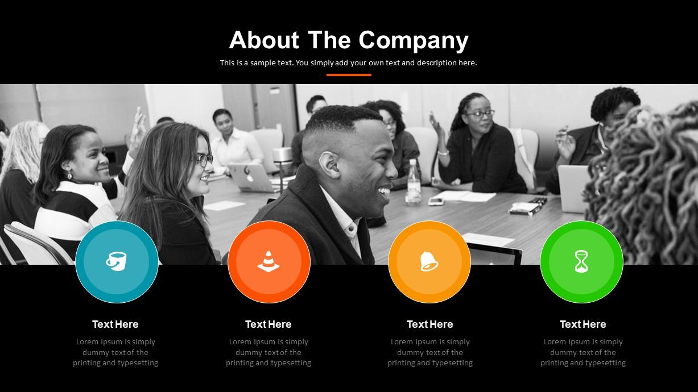 Digital Marketing Company PowerPoint Template