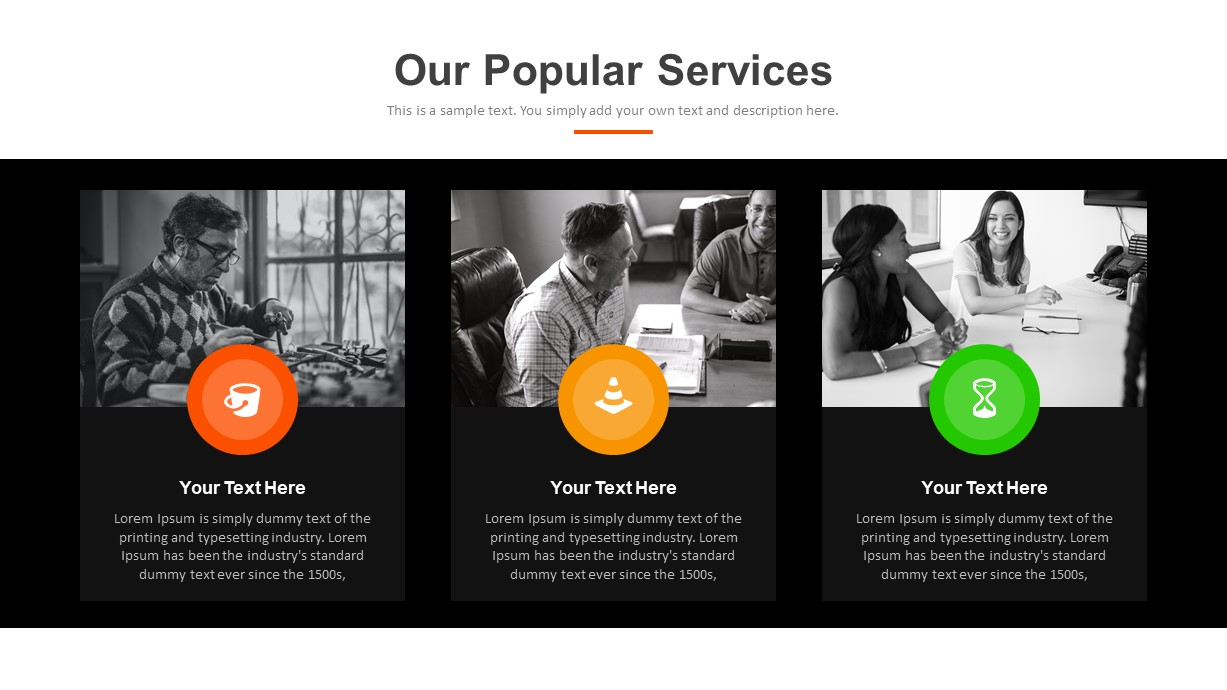 Digital Marketing Services PowerPoint Template