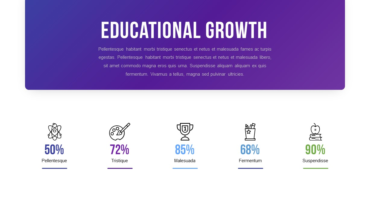 Educational Growth PowerPoint Template