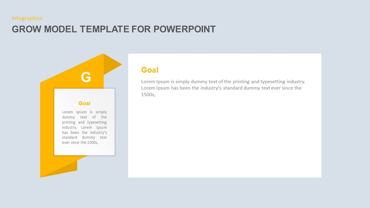 Grow Model PowerPoint