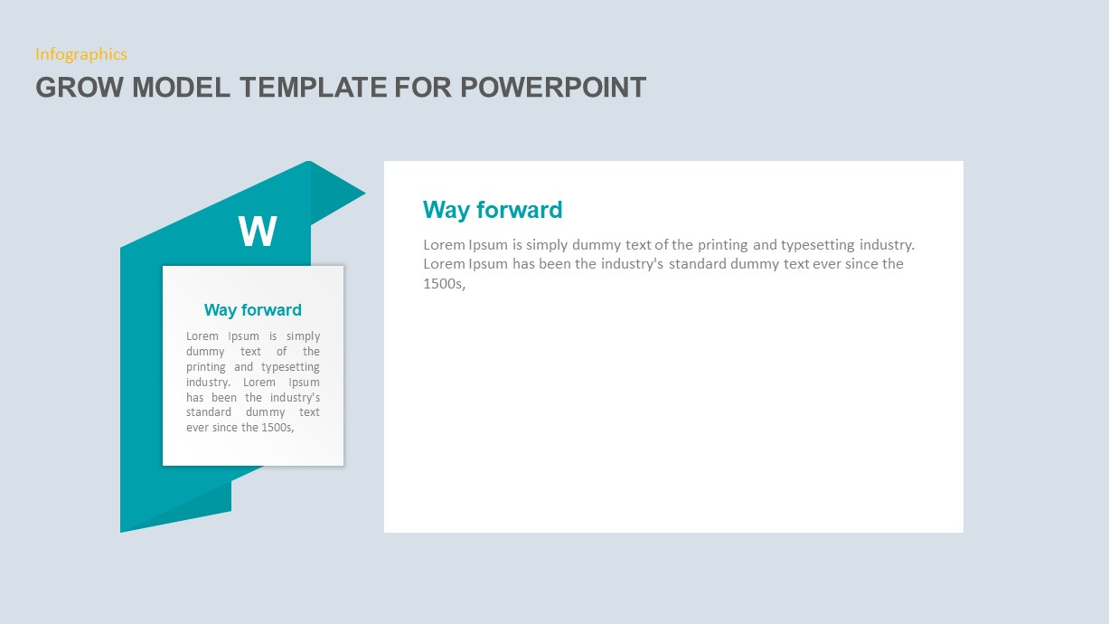Grow Model PowerPoint Slide