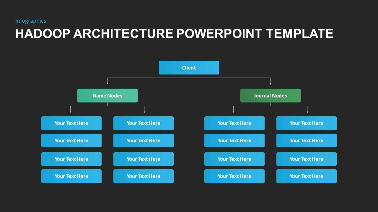 Hadoop Architecture PowerPoint Slide