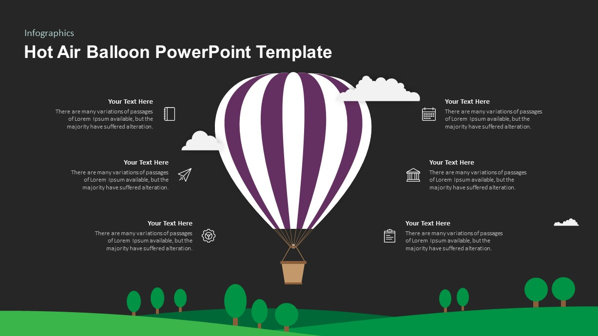 Hot Air Balloon Ppt