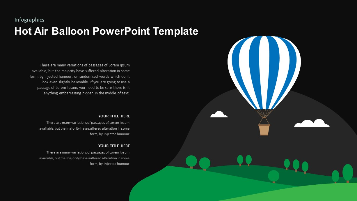 Hot Air Balloon Ppt Template