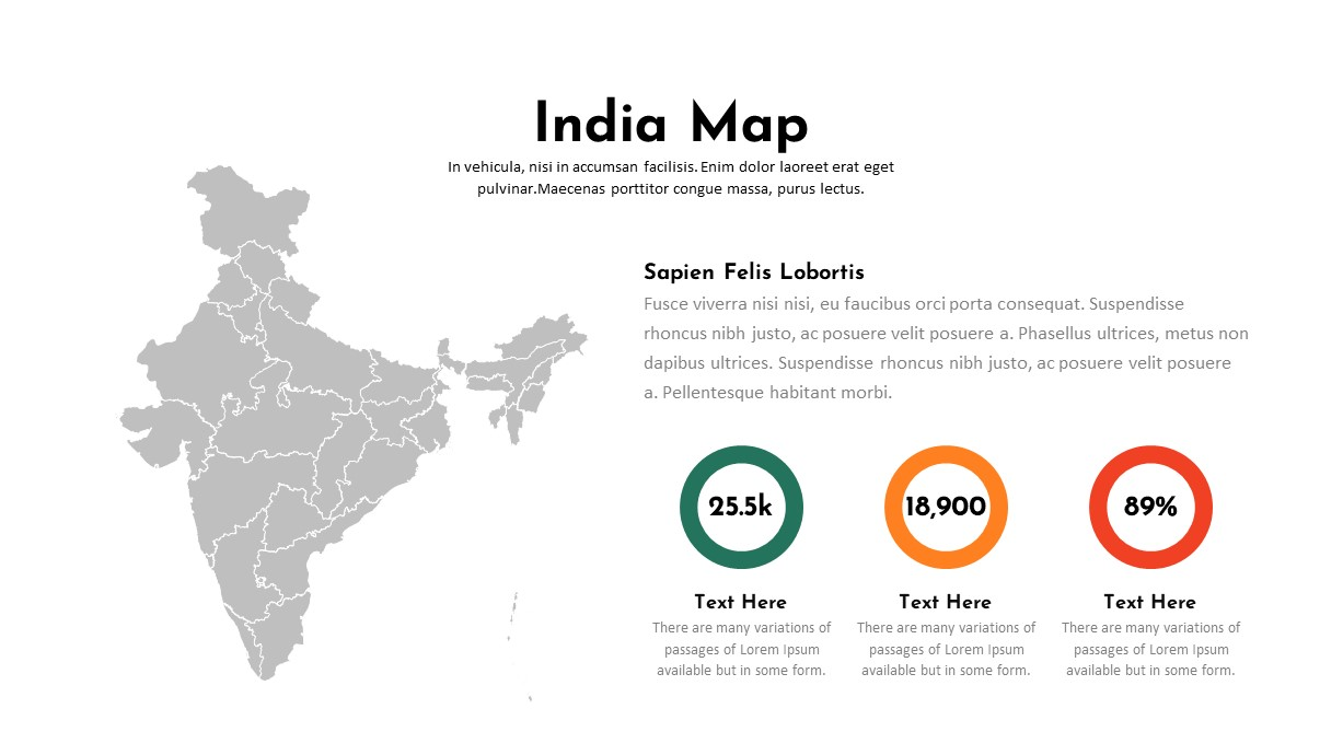 India Map PowerPoint Template