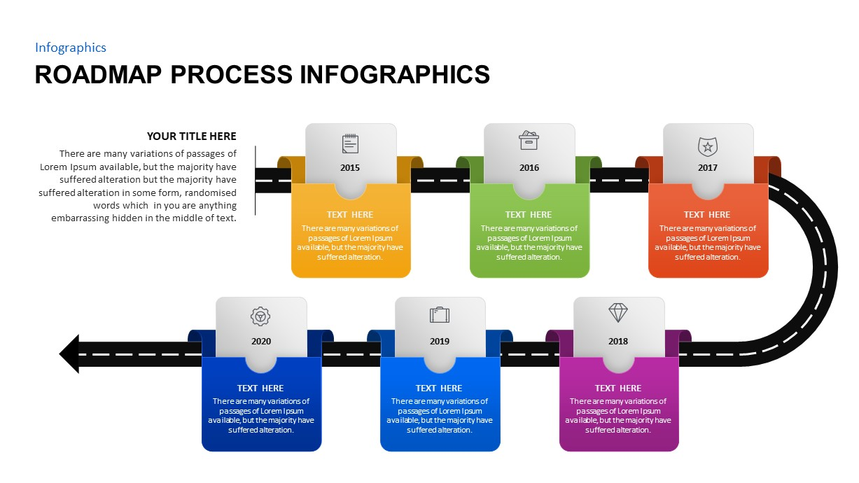 Infographic Process Roadmap Template