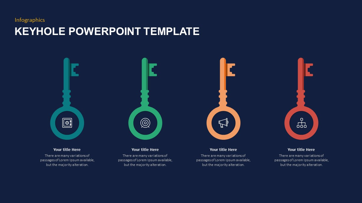 Key Graphics PowerPoint Template