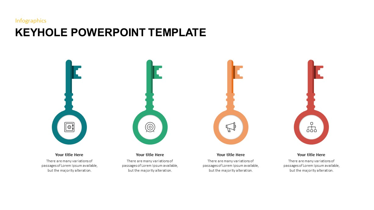 Key PowerPoint Template