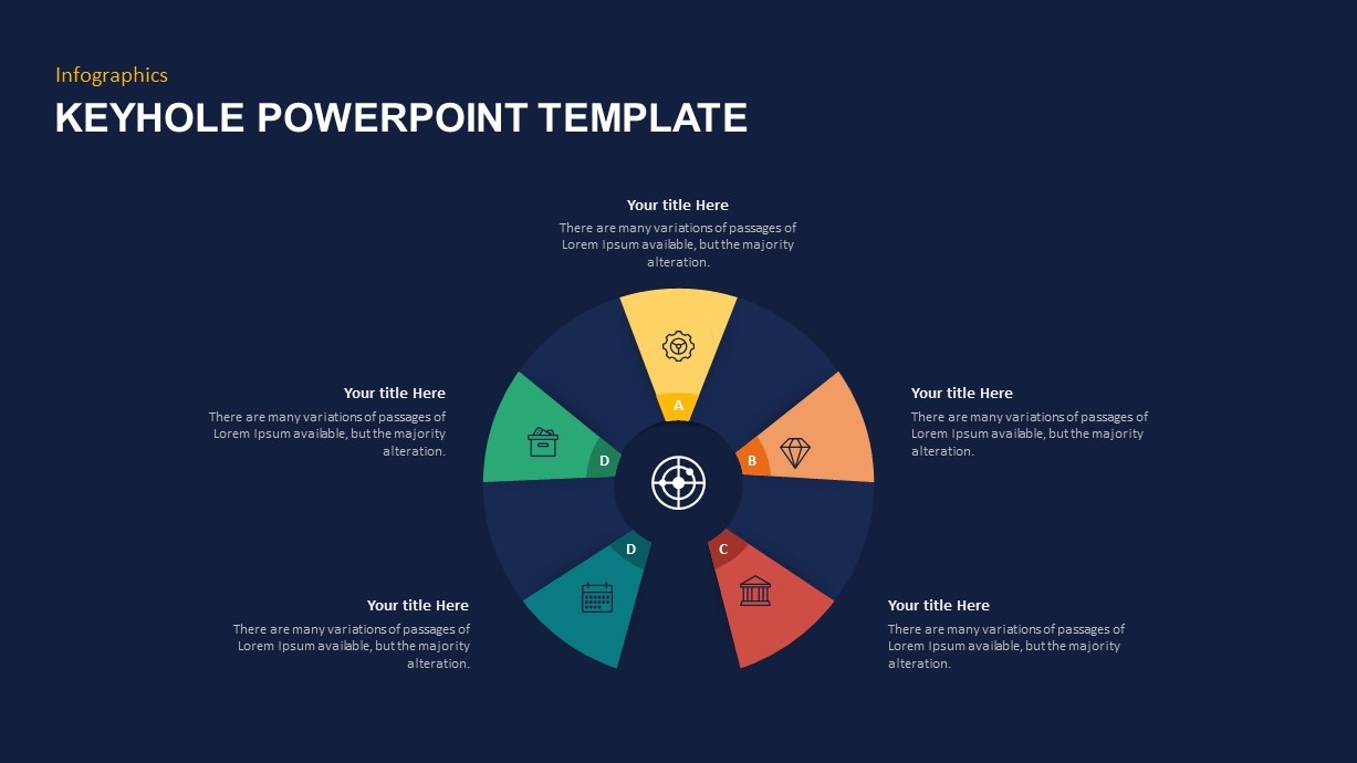 Keyhole Graphics PowerPoint Template