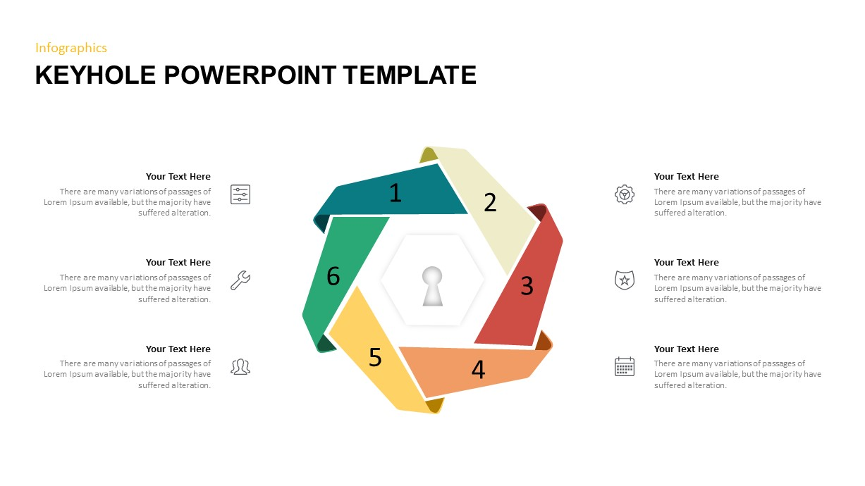 Keyhole PowerPoint Diagram