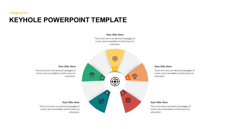 Keyhole PowerPoint Slide