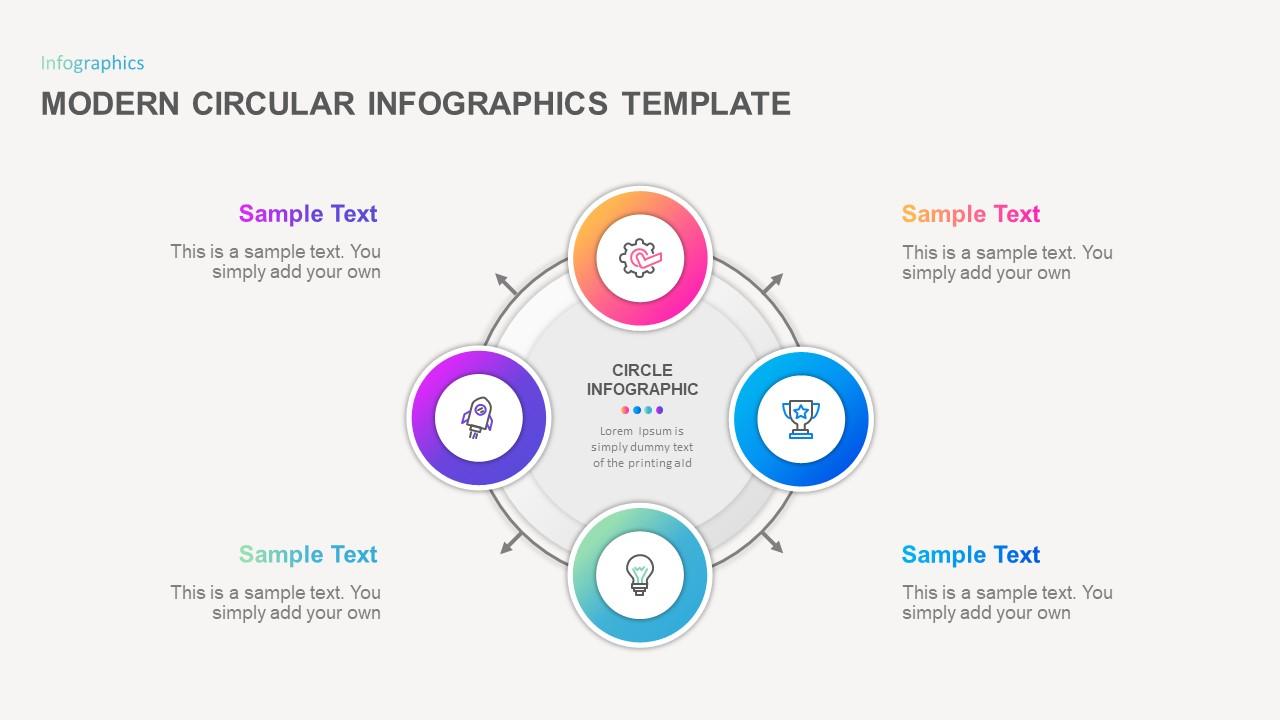 Modern Circular PowerPoint Template