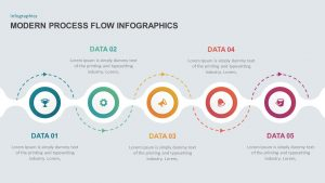 Modern Process Flow Infographic Template