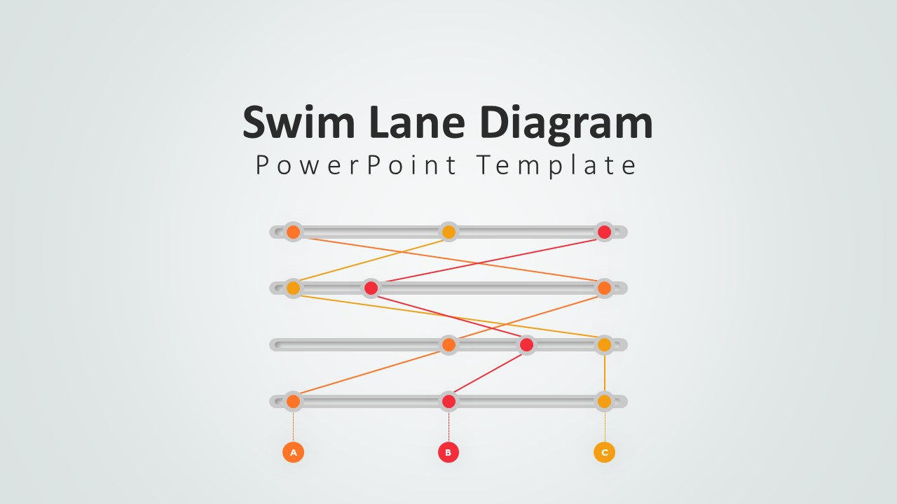 SwimLane Diagram for PowerPoint