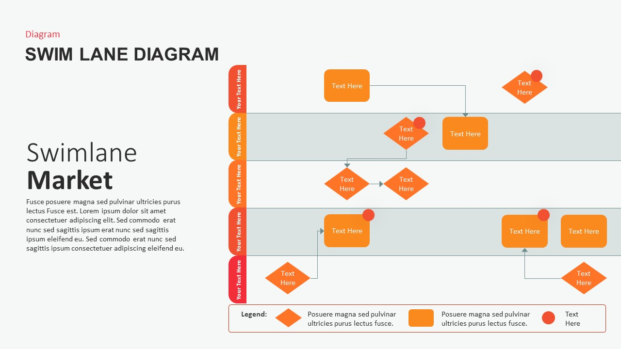 Swimlane Diagram PowerPoint