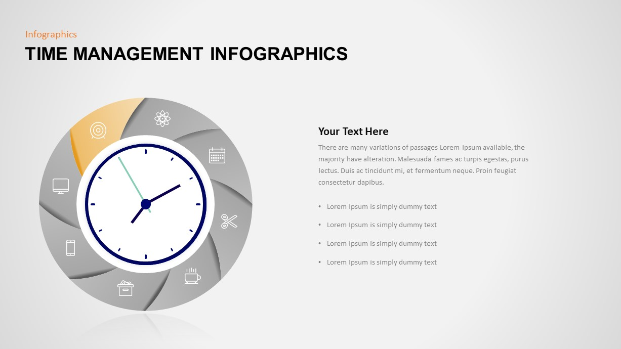 Time Management Ppt Diagram