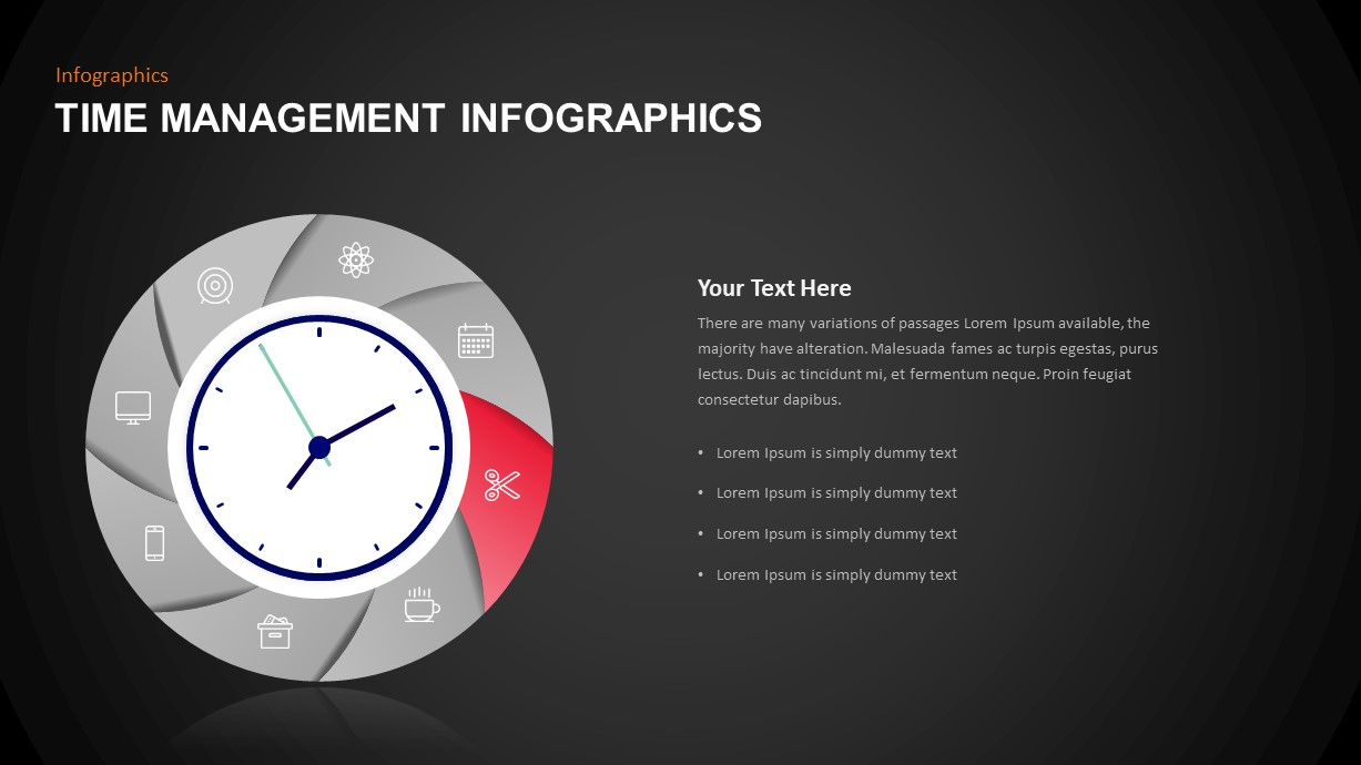 Time Management Template for Presentation