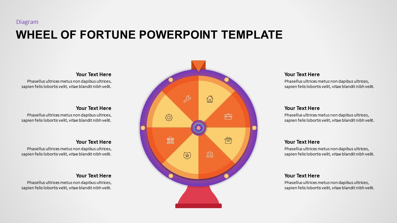 Wheel of Fortune PowerPoint Slide