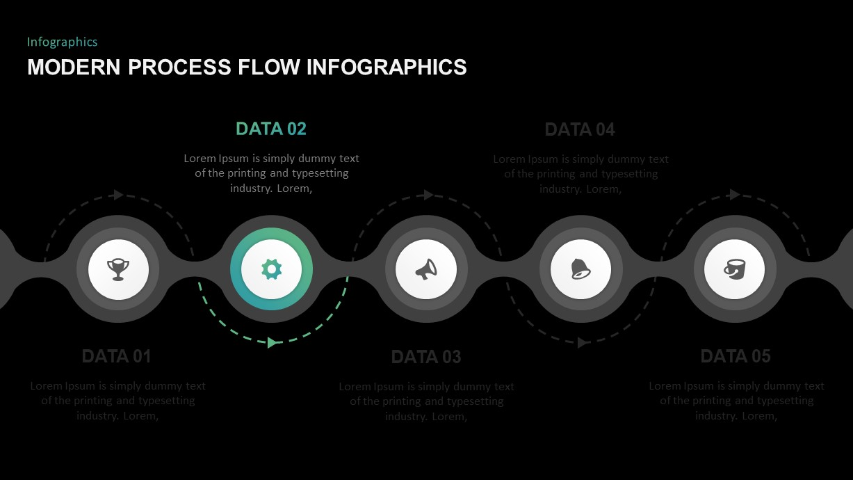 Process Flow Diagram Infographic Template for PowerPoint ...