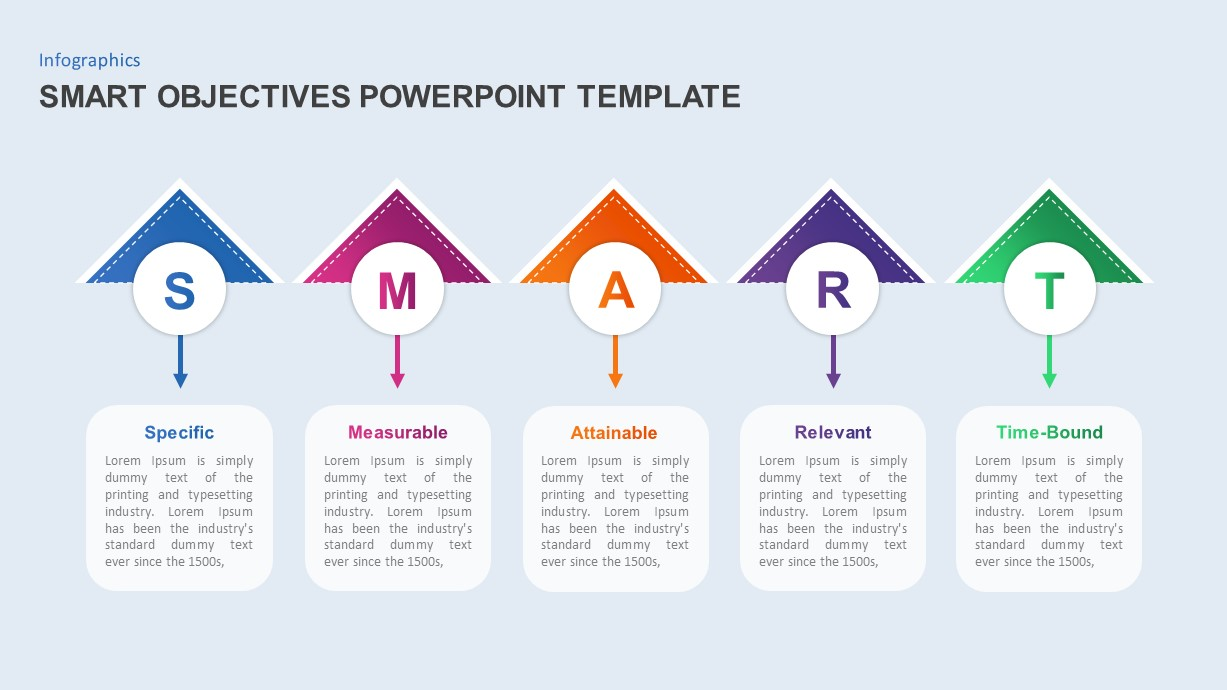 smart objectives powerpoint template