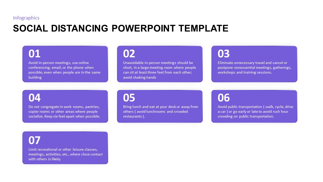 social distancing powerpoint diagram