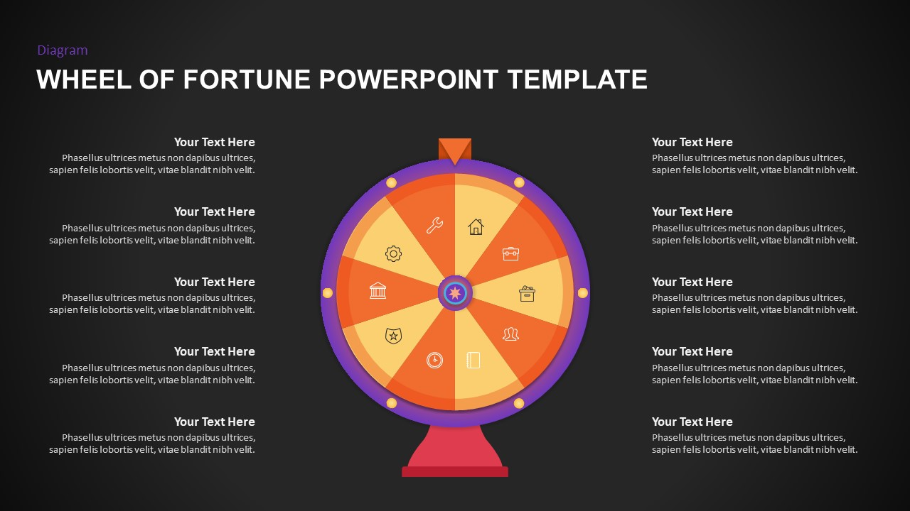 wheel of fortune presentation template