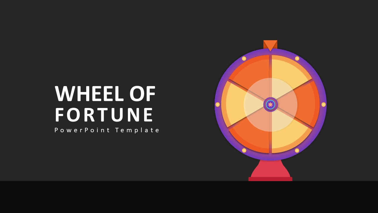 wheel of fortune template