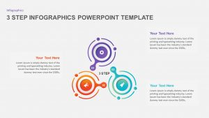 3 and 4 Step Infographic Template